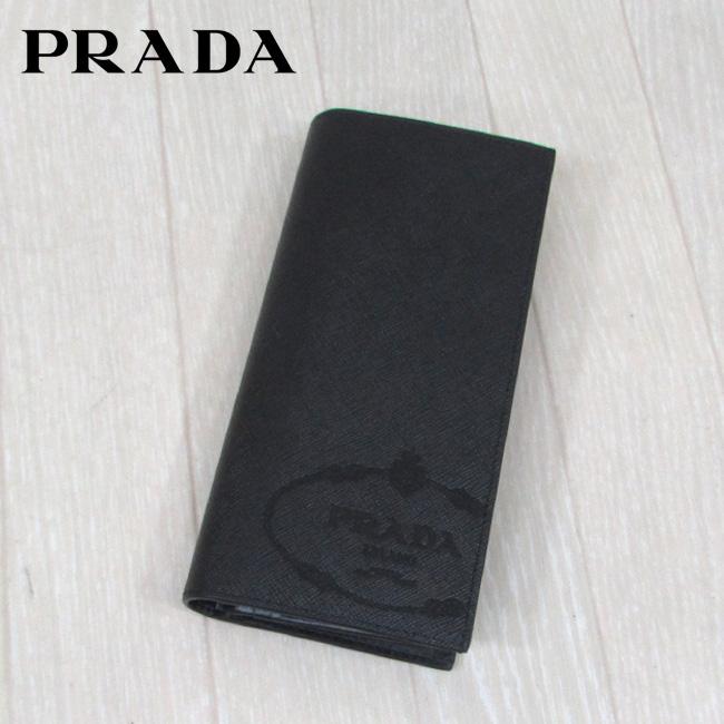 プラダ PRADA 長財布 小銭入れ付 ロングウォレット 2MV836 2MB8 / F0002 / NERO
