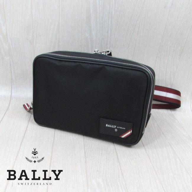 バリー BALLY バッグ メンズ ボディバッグ 6226362 / 00 / ブラック 黒
