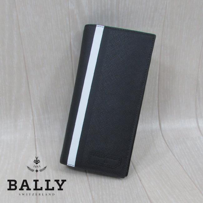 バリー BALLY メンズ 長財布 雑貨 6224345 / 30 / ブラック 黒
