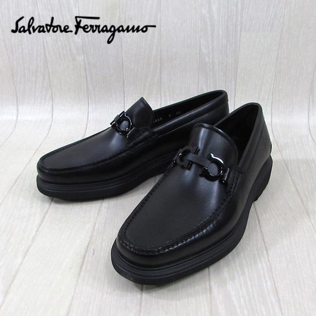 サルヴァトーレフェラガモ SALVATORE FERRAGAMO メンズ ローファー シューズ 靴 ゴッサム GOTHAM 0642907 EEE / NERO CALF / ブラック 黒 サイズ:6~8