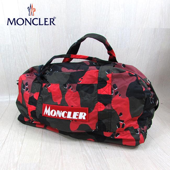 モンクレール MONCLER ボストンバッグ NIVELLE ニベル 4005000 539P1 / 450 / カモフラ