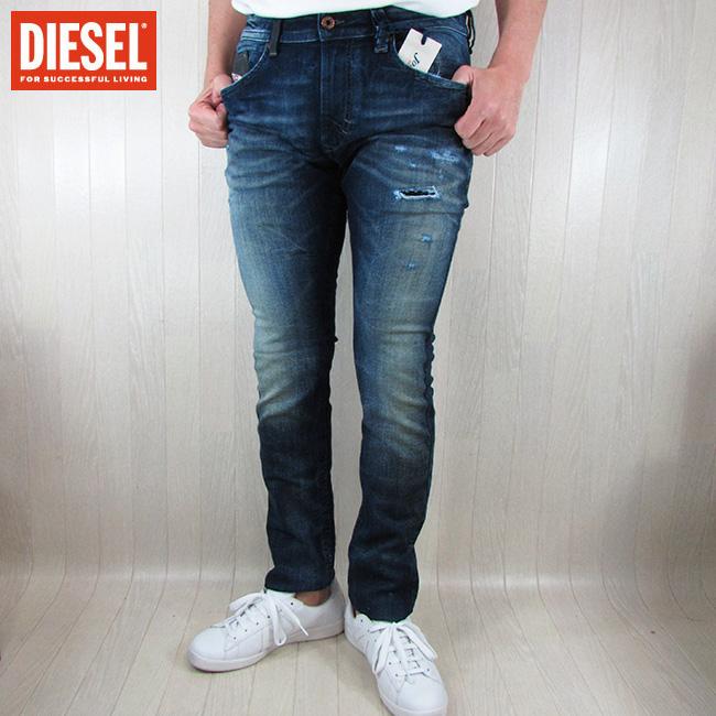 ディーゼル DIESEL ジーンズ デニムパンツ メンズ ボトムス ジョグジーンズ THAVAR-NE R060S / 01 / ブルー サイズ:28~34
