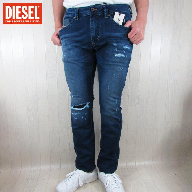 ディーゼル DIESEL ジーンズ デニムパンツ メンズ ボトムス ジョグジーンズ THAVAR-NE R266L / 01 / ブルー サイズ:28~34