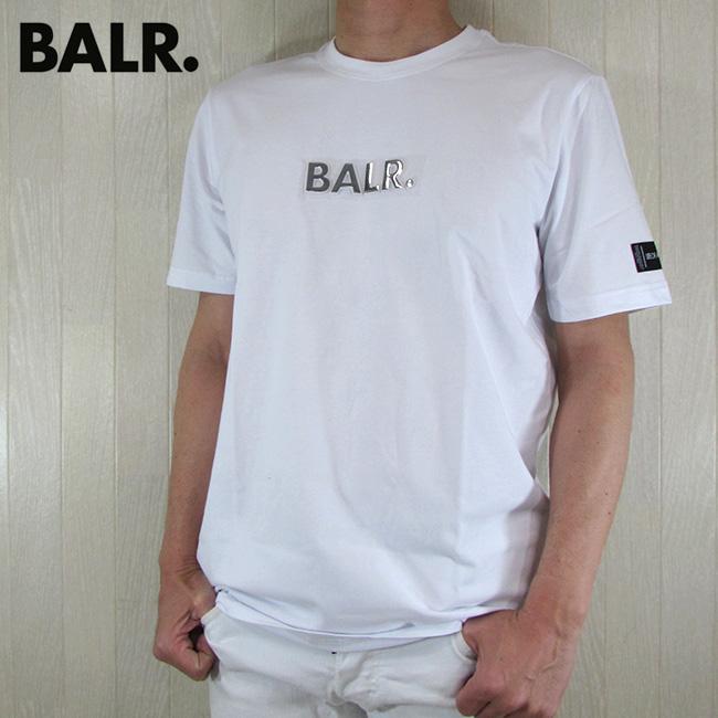 ボーラー BALR. メンズ Tシャツ 半袖 カットソー B10068 / ホワイト 白 サイズ:S~XL