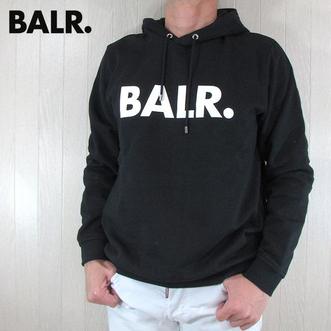 ボーラー BALR. パーカー メンズ スウェット B10005 / ブラック 黒 サイズ:S~XL