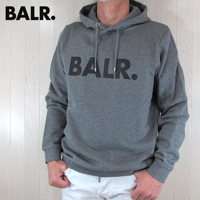 ボーラー BALR. パーカー メンズ スウェット B10005 / グレー サイズ:S~XL
