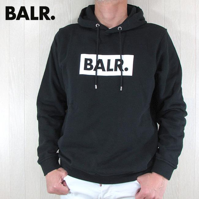 ボーラー BALR. パーカー メンズ スウェット CLUB HOODIE / ブラック 黒 サイズ:S~XL