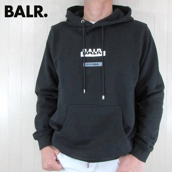 ボーラー BALR. パーカー メンズ スウェット B10046 / ブラック 黒 サイズ:S~XL