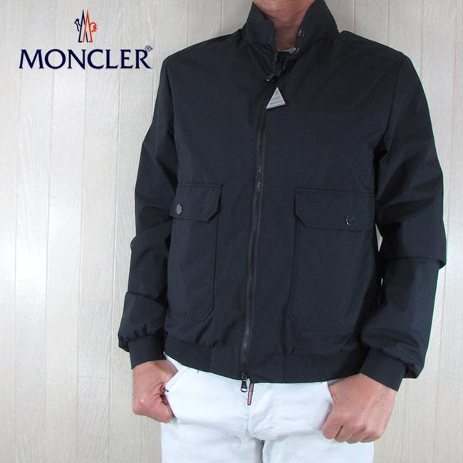 モンクレール MONCLER メンズ ナイロンブルゾン VERTE GIUBBOTO4011200 549FP / 778 / ネイビー サイズ:1~6