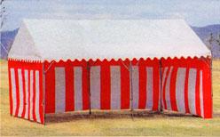 紅白幕 5間(H1.8m×W9.0m)