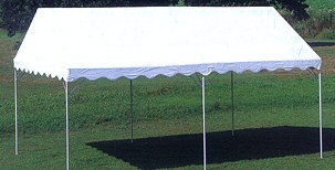 集会用テント【ターポリン】 2間×4間(3.56m×7.10m)