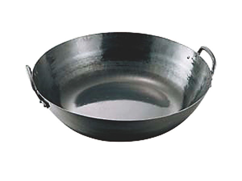 10%OFFクーポン有 『 鉄 打出 天ぷら 鍋 51cm ( 14.0L ) 』 耐久性 抜群 プロ仕様 業務用 可 日本製 国産