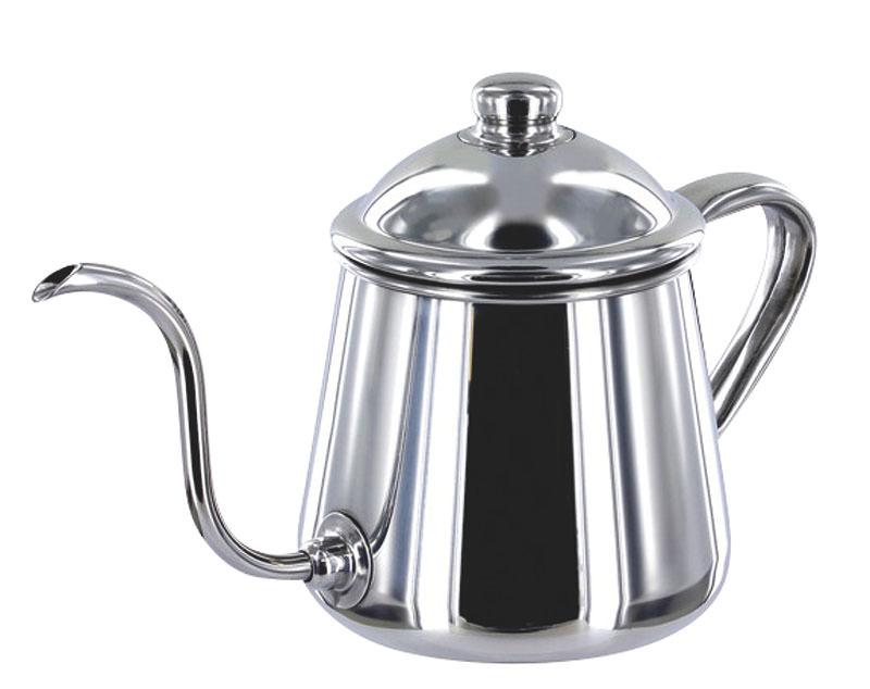 [期間限定クーポン付] 日本製 IH 対応 丈夫で錆びにくい プロ仕様 ステンレス コーヒー ポット 細口 0.9L