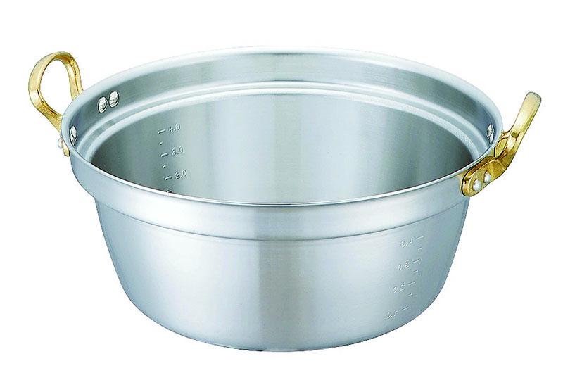 [まとめ買い 限定クーポン付] IH対応 新素材 ステンレス 採用 『 料理 鍋 42cm ( 19.0L ) 』 高 熱伝導率 高 耐食性 プロ仕様 業務用 可 日本製 国産