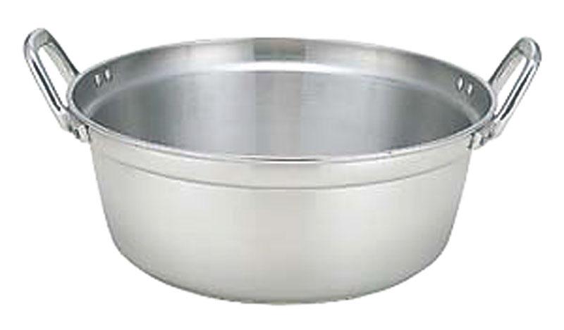 クーポンで23%OFF IH ・ ガスコンロ オール熱源対応 『 業務用 料理 鍋 42cm ( 17.7L ) 』 高 耐久 高 熱伝導率 プロ仕様 日本製 国産