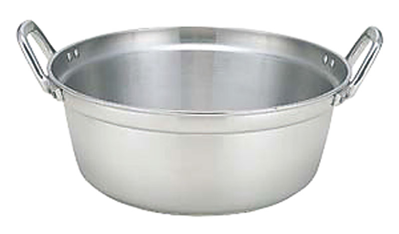 IH ・ ガスコンロ オール熱源対応 『 業務用 料理 鍋 45cm ( 20.8L ) 』 高 耐久 高 熱伝導率 プロ仕様 日本製 国産