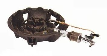 クーポンで23%OFF 業務用 鋳物 ガス コンロ TS-510P ガスタイプ (都市ガス/12A・13A) 安心の 日本製
