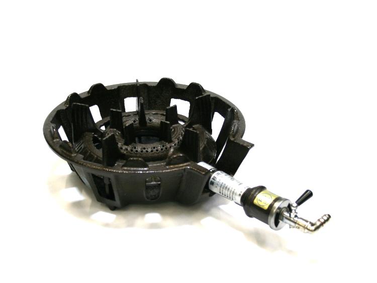 業務用 鋳物 ガス コンロ TS-540P ガスタイプ (都市ガス/12A・13A) 安心の 日本製
