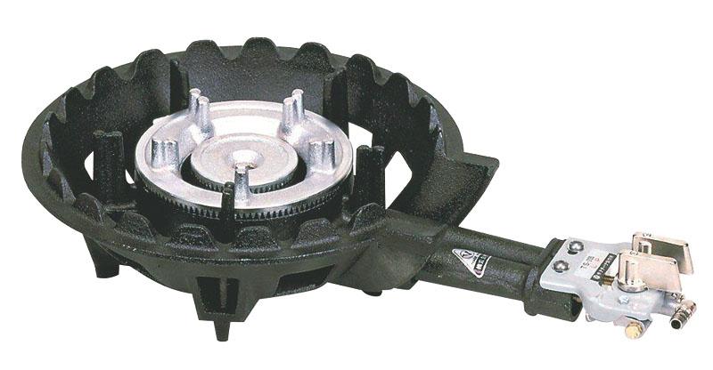 クーポンで23%OFF 業務用 ハイカロリー タイプ ガス コンロ TS-205P ガスタイプ ( LPG /プロパンガス) 安心の 日本製