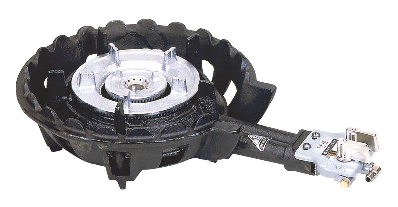 クーポンで23%OFF 業務用 ハイカロリー タイプ ガス コンロ TS-208P ガスタイプ (都市ガス/12A・13A) 安心の 日本製