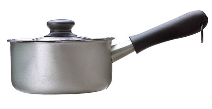 国産 鍋 柳宗理 デザイン ミルクパン 蓋付 16cm ミラー