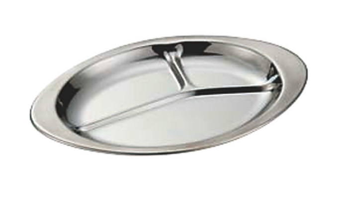 国産 食器 皿 ランチプレート 抗菌 ステンレス ランチ 皿 255×175mm