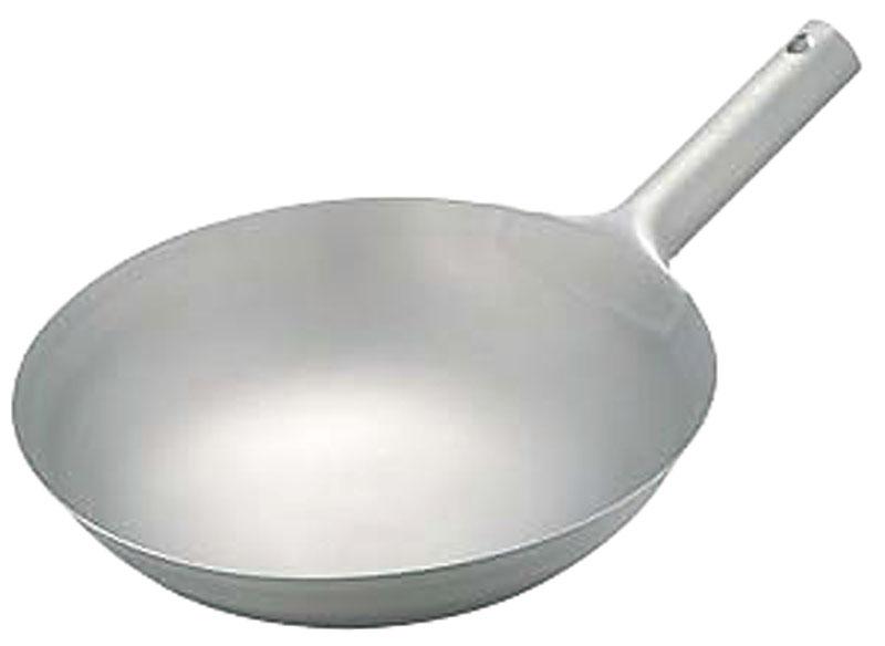 中華 鍋   日本製 ・ 国産   匠の技 プロ仕様 チタン 業務用 北京鍋   30cm 軽くて錆びない