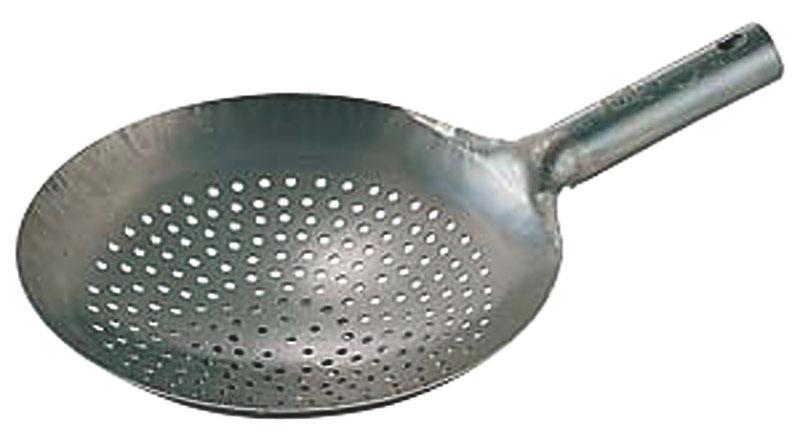 日本製 ・ 国産 | 匠の技 プロ仕様|鉄 打出 ザーレン ( ジャーレン ) 鍋|42cm|中華 料理