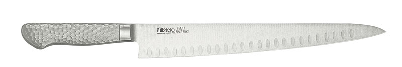 日本製 最高級 モリブデン バナジウム鋼 割込 プロ仕様 サーモンンスライサー  刃渡り 300mm 最新技術製法 業務用 可