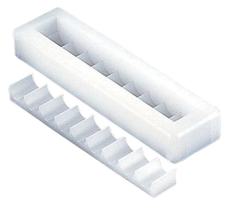 日本製 プロ仕様 押し 寿司 作りに! 幕の内 9穴 ( 1本取 関東型 ) プラスチック製 業務用 可
