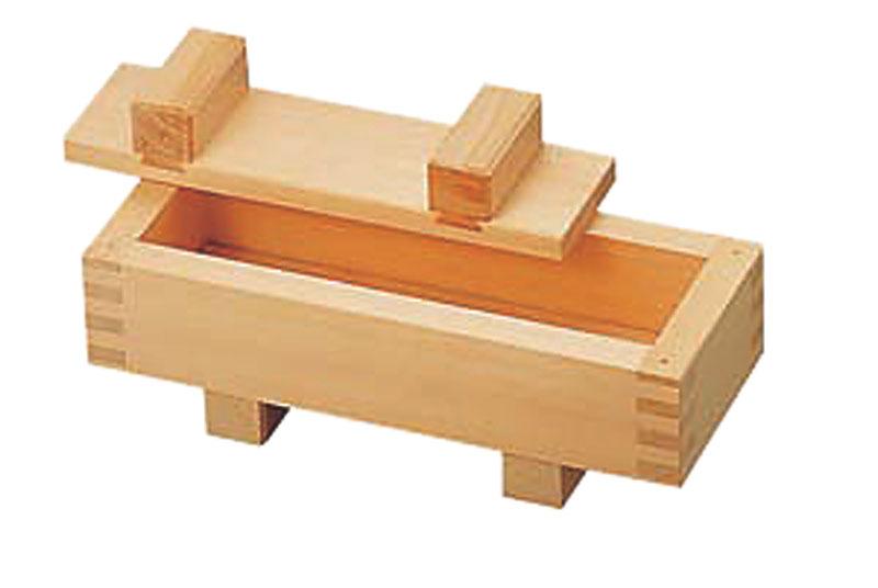 クーポンで23%OFF 日本製 プロ仕様 押し 寿司 作りに! 京さば寿司器 檜 ( ひのき )製 業務用 可