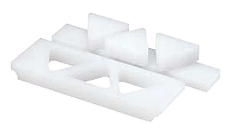 日本製 おにぎり型 / 三角 ( 角型 ) 押し蓋付 ( 6穴・大 )  一度に複数のおにぎりが作れる! 業務用 可