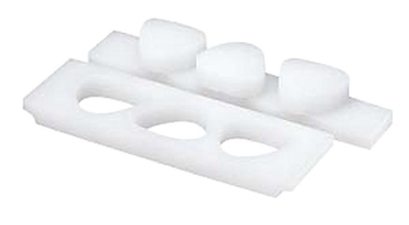 日本製 おにぎり型 / 三角 ( 丸型 ) 押し蓋付 ( 6穴・小 )  一度に複数のおにぎりが作れる! 業務用 可