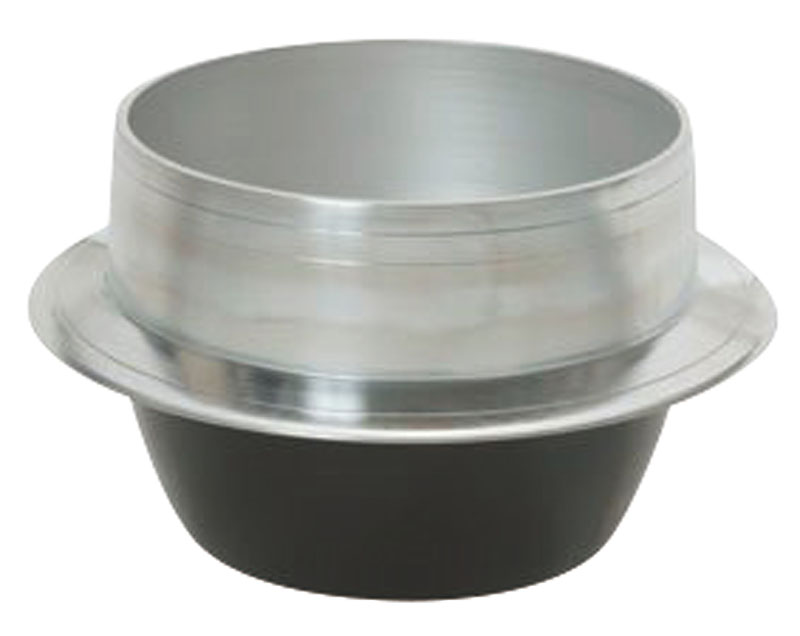 熱伝導率の良い アルミ鋳物 製 羽釜 54cm  炊飯 ・ 茹で釜としても使える! 業務用 可 日本製