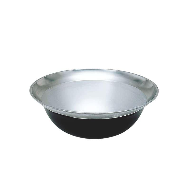 クーポンで23%OFF 熱伝導率の良い アルミ鋳物 製 大型 平釜 73cm ( 64L ) 災害時 の 炊き出し や 野外 イベント に!  業務用 可 日本製