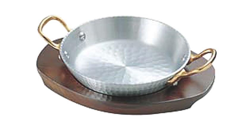 日本製 厚板 アルミ 材採用 パエリア 両手 鍋 21cm 高 熱伝導率 高 蓄熱性 自宅でも使える プロ仕様 アウトドア でも大活躍! 業務用 可