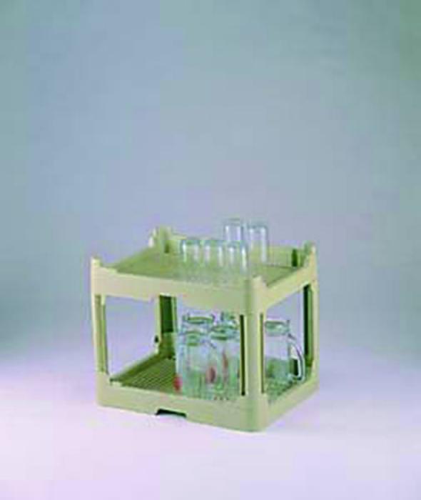 買い取り 厳選した商品をご紹介しております 食器 の 水切り システム 2020 ウォーター グリーン 175mm 日本製 小 コランタ゛ー足無2段