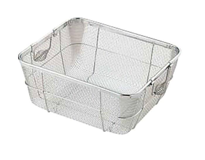 食器 の 水切り に 18-8 ステンレス クリーン ハ゛ス ケット A 浅型 大 国産 日本製