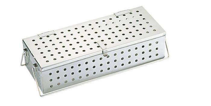 [期間限定クーポン付] 食器 の 消毒 に 18-8 ステンレス ハ゜ンチンク゛ 箸 消毒 かご (L) 国産 日本製