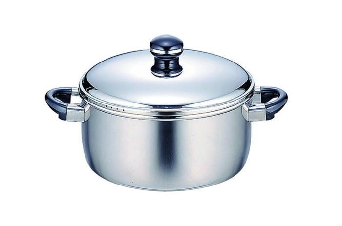 鍋 全面鉄芯3層鋼 オブジェ 両手鍋 IH対応 28cm 国産 日本製