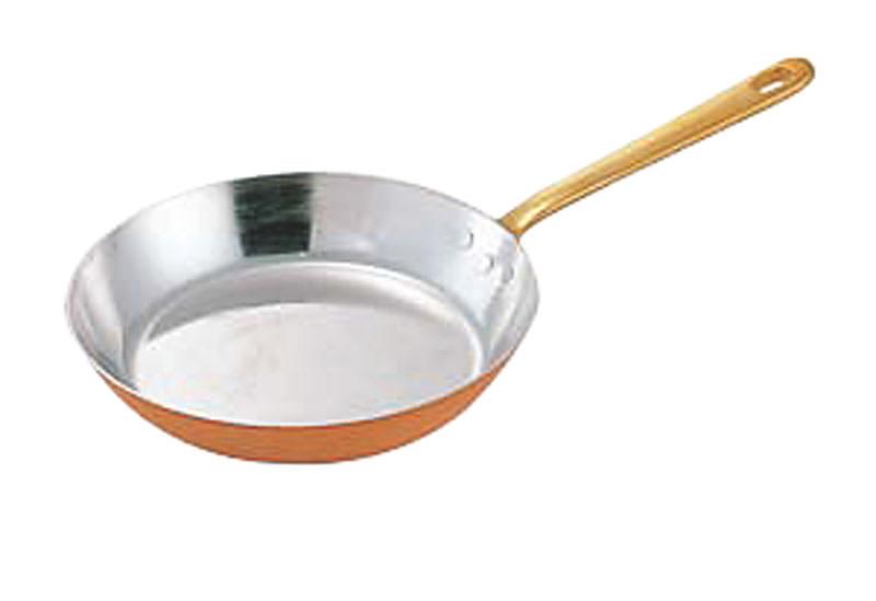 10%OFFクーポン有 銅 フライパン 熱が早く伝わる 高級フライパン 22cm 国産 日本製