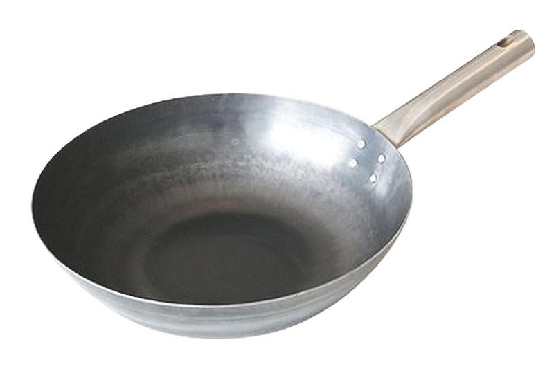 鉄 フライパン 軽い 持ち手が熱くならない チタンハンドル いため鍋 27cm 国産 日本製