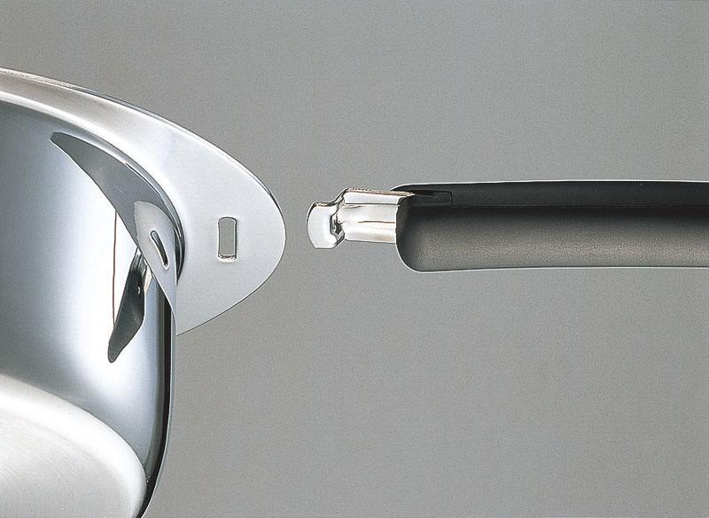 鍋 アルミ芯 3層鋼 IH 対応 十得鍋 ソースポット 20cm 国産 日本製