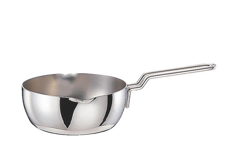 鍋 ステンレス多層鍋 ジオ・プロダクト IH 対応 余熱調理 無水調理 行平鍋 15cm 国産 日本製
