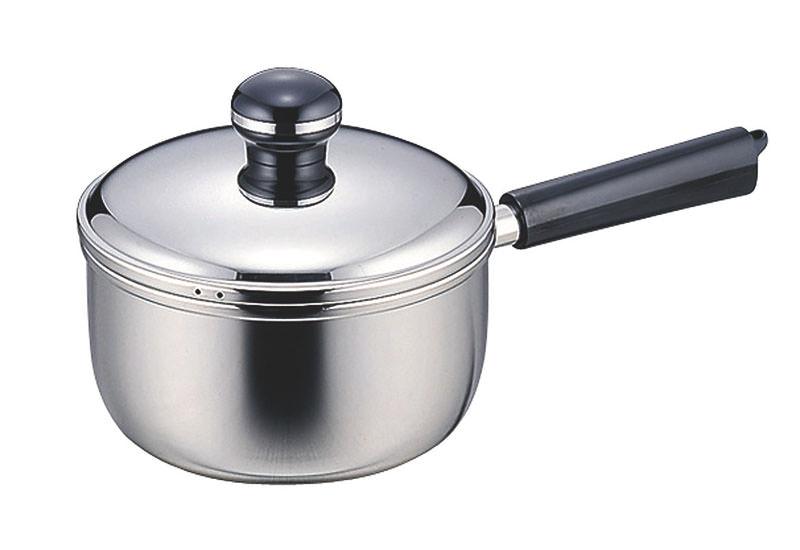 鍋 鍋セット 全面鉄芯3層鋼 オブジェ IH対応 ソースパン16cm ソースポット18cm 国産 日本製