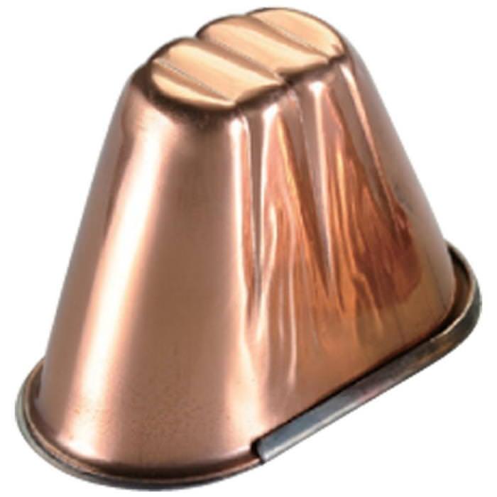 クーポンで23%OFF 銅 アイスクリーム カップ 富士型  プロ仕様アイスクリーム型 業務用 可