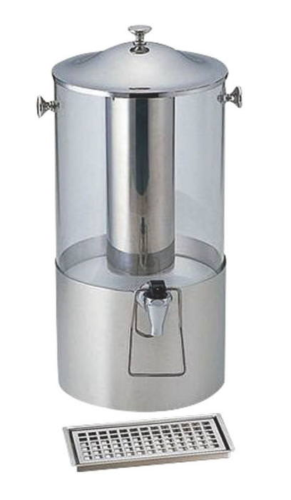 18-8ステンレス 製 おしゃれ な 1本用 ジュース ディスペンサー スタンダード (大) 業務用 日本製