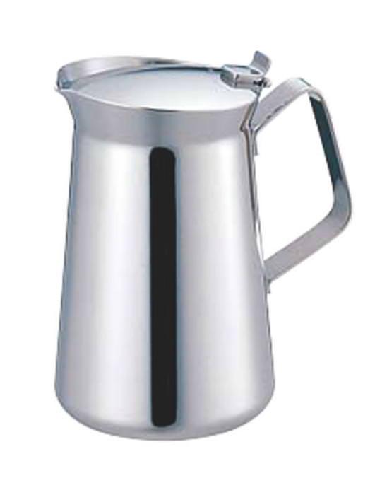 10%OFFクーポン有 日本製 丈夫で錆びにくい プロ仕様 18-8 ステンレス ET型コーヒーポット 10人用 業務用 可