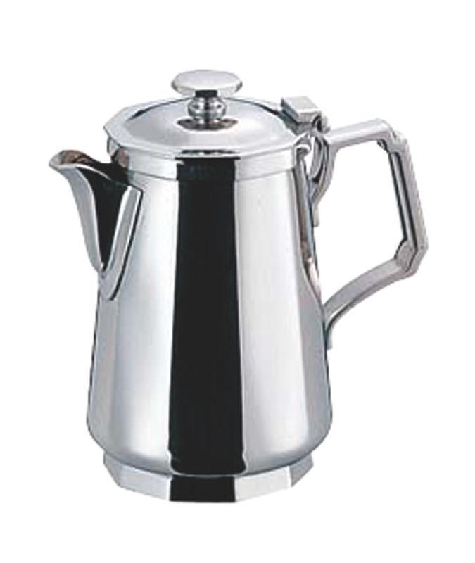 10%OFFクーポン有 日本製 コーヒー ・ ティー 用品 プロ仕様 18-8 ステンレス 角型 ミルクポット 7人用 業務用 可