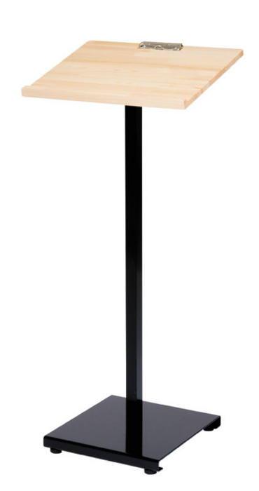 店舗備品 新・記名台 白木タイプ 専用プレートを取り付け可(別売り) 店頭サイン 業務用 日本製